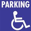 Parking handicapé mobilité réduite