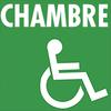 Chambre handicapé mobilité réduite